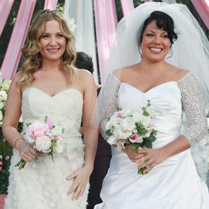 boda en blanco y rosa en anatom237a de grey