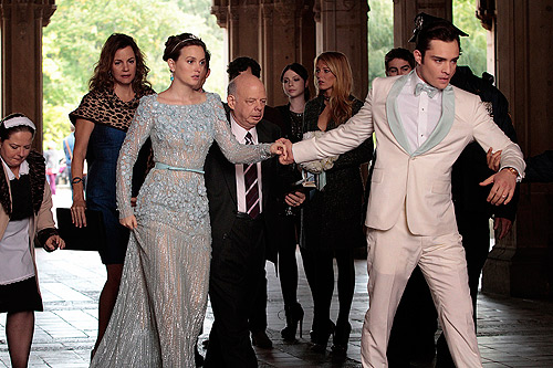Gossip Girl Quotes About New York: Blair Y Chuck: Boda En Central Park