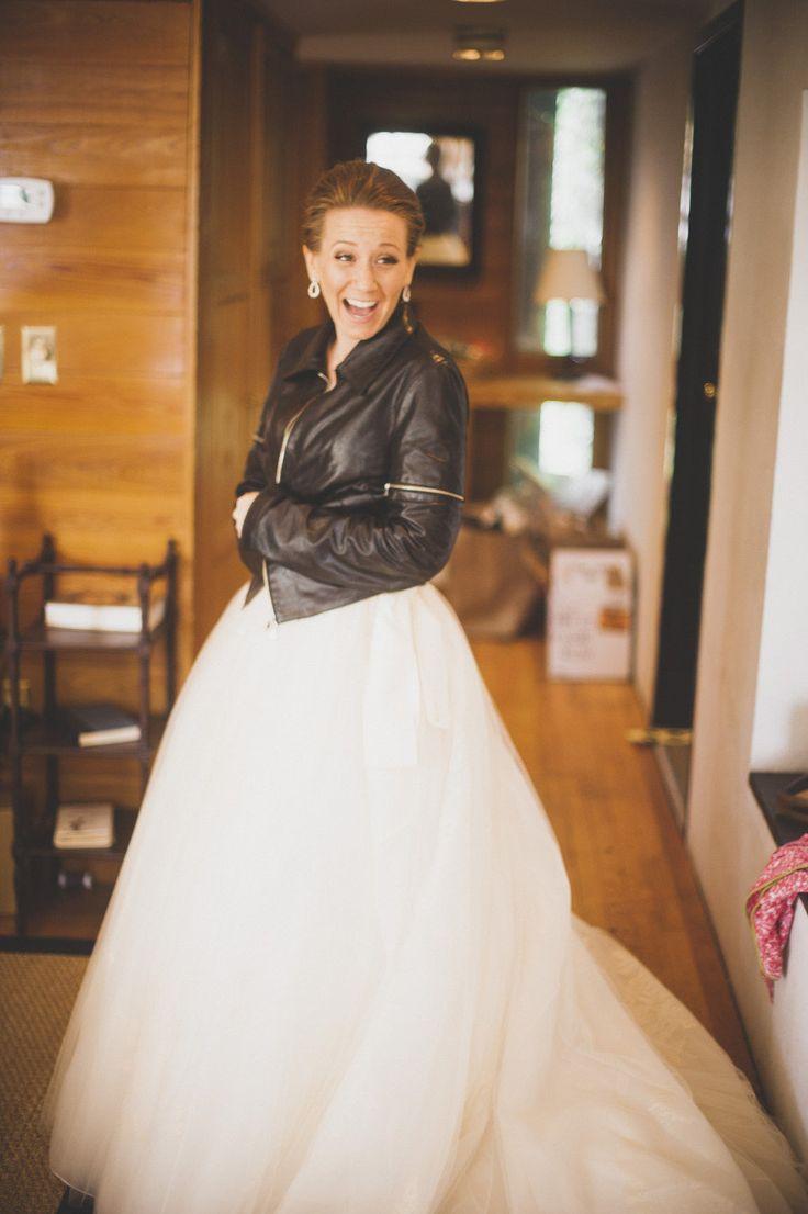 Vestidos de novia con la chaqueta