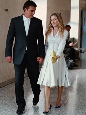 Resultado de imagen de boda carrie bradshaw