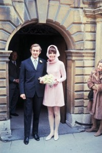 Andrea Dotti and Audrey Hepburn After Wedding