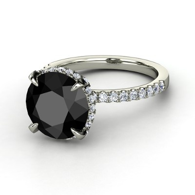 Black diamond ring carrie bradshaw