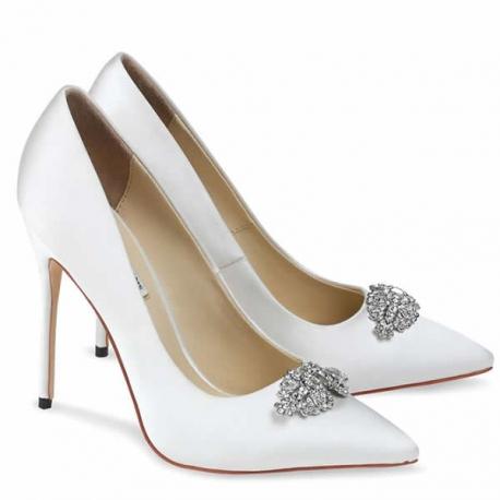 cinco zapatos de novia de egovolo. zapatos de novia online.